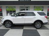 2019 White Platinum Ford Explorer Platinum 4WD #135830449