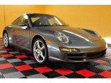 2008 Meteor Grey Metallic Porsche 911 Targa 4 #13529110