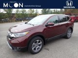 2019 Basque Red Pearl II Honda CR-V EX AWD #135853019