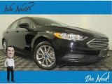 2017 Shadow Black Ford Fusion Hybrid SE #135853068