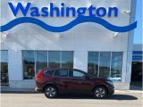 2019 Basque Red Pearl II Honda CR-V LX AWD #135866523
