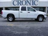 2008 Bright White Dodge Ram 1500 Big Horn Edition Quad Cab #13523676