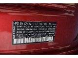 2008 Porsche 911 Carrera S Coupe Info Tag