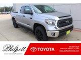 2020 Silver Sky Metallic Toyota Tundra SR5 Double Cab 4x4 #135880269