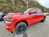 2020 Flame Red Ram 1500 Big Horn Night Edition Crew Cab 4x4 #135908060
