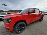2020 Flame Red Ram 1500 Big Horn Night Edition Crew Cab 4x4 #135908057