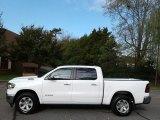 2020 Bright White Ram 1500 Laramie Crew Cab 4x4 #135924669