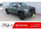 2020 Army Green Toyota Tundra TRD Pro CrewMax 4x4 #135924806