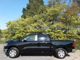 2020 Diamond Black Crystal Pearl Ram 1500 Laramie Crew Cab 4x4 #135924667