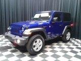 2020 Jeep Wrangler Ocean Blue Metallic