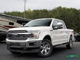 2019 White Platinum Ford F150 Lariat SuperCrew 4x4 #135924649