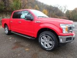 Race Red Ford F150 in 2020