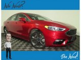 2017 Ruby Red Ford Fusion Sport AWD #135943419