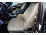 2020 Ford F150 XLT SuperCrew Medium Light Camel Interior