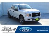 2019 Ingot Silver Ford F150 STX SuperCrew 4x4 #135943373