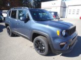 Slate Blue Pearl Jeep Renegade in 2020