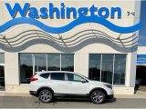 2019 Platinum White Pearl Honda CR-V EX-L #135943345