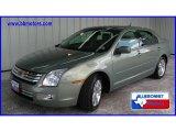 2008 Moss Green Metallic Ford Fusion SEL V6 #13531371