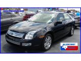 2008 Dark Blue Ink Metallic Ford Fusion SEL V6 #13531280