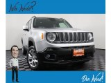 2018 Glacier Metallic Jeep Renegade Latitude 4x4 #135943282