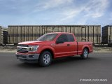 2019 Race Red Ford F150 XLT SuperCab 4x4 #135960288