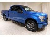 2016 Blue Flame Ford F150 XLT SuperCab 4x4 #135976461