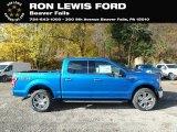 2019 Velocity Blue Ford F150 XLT SuperCrew 4x4 #135976299