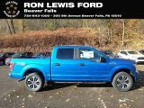2020 Velocity Blue Ford F150 STX SuperCrew 4x4 #135976293