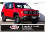2017 Colorado Red Jeep Renegade Trailhawk 4x4 #135998580
