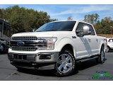 2020 Star White Ford F150 Lariat SuperCrew 4x4 #135998538