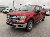 2019 Ruby Red Ford F150 XLT SuperCrew 4x4 #136006340