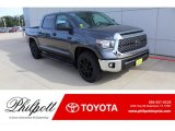 2020 Magnetic Gray Metallic Toyota Tundra TSS Off Road CrewMax #136021134