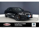 2020 Jet Black BMW 3 Series 330i Sedan #136054833