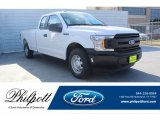 2019 Oxford White Ford F150 XLT SuperCab #136054821