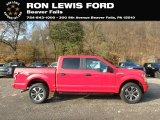 2019 Race Red Ford F150 STX SuperCrew 4x4 #136081797