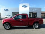 2019 Ruby Red Ford F150 XLT SuperCab 4x4 #136103087