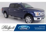 2019 Blue Jeans Ford F150 XLT SuperCrew 4x4 #136110594