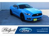 2017 Grabber Blue Ford Mustang GT Premium Coupe #136110615