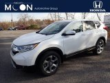 2019 Platinum White Pearl Honda CR-V EX AWD #136110575