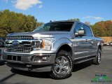 2020 Iconic Silver Ford F150 XLT SuperCrew 4x4 #136110435