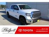 2020 Super White Toyota Tundra TSS Off Road CrewMax #136110606