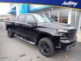 2020 Black Chevrolet Silverado 1500 LT Trail Boss Crew Cab 4x4 #136127806