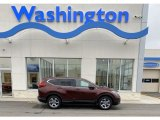 2019 Basque Red Pearl II Honda CR-V EX AWD #136127644