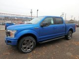 2020 Ford F150 Velocity Blue