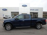 2019 Blue Jeans Ford F150 XLT SuperCab 4x4 #136144958