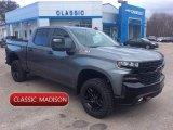 2020 Satin Steel Metallic Chevrolet Silverado 1500 LT Trail Boss Crew Cab 4x4 #136144911