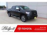 2020 Midnight Black Metallic Toyota Tundra Platinum CrewMax 4x4 #136157896