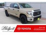 2020 Quicksand Toyota Tundra TSS Off Road CrewMax #136157895
