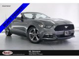 2015 Magnetic Metallic Ford Mustang V6 Convertible #136175075
