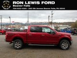 2019 Ruby Red Ford F150 XLT SuperCrew 4x4 #136175053